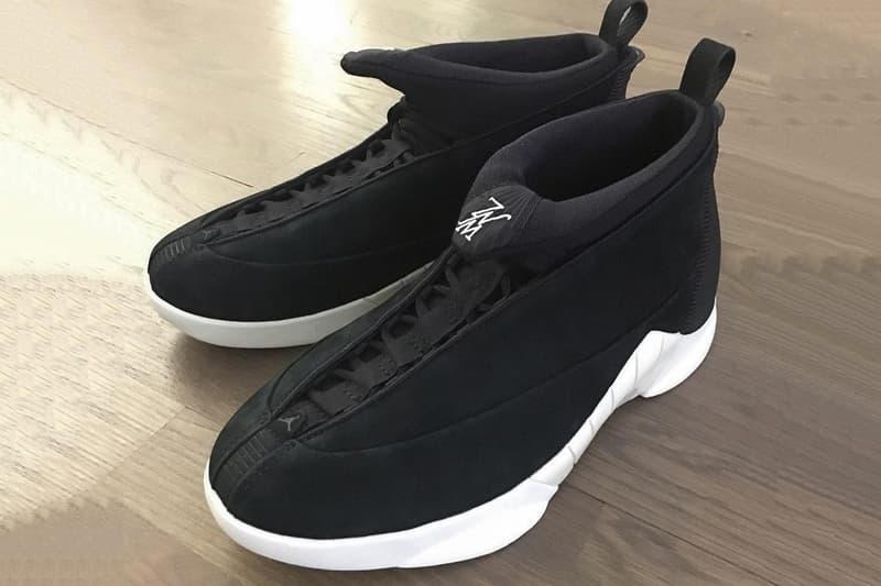 Eugene Tong 曝光 Public School x Air Jordan 15 最新聯乘鞋作