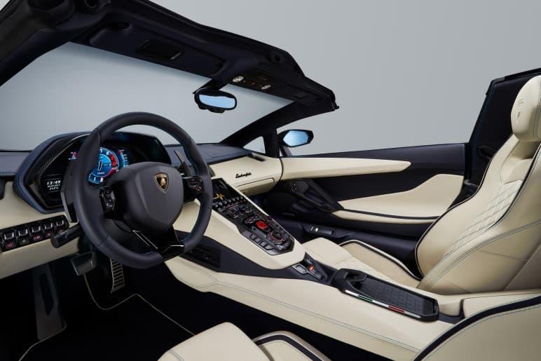 Lamborghini 發佈全新敞篷超跑 Aventador S Roadster