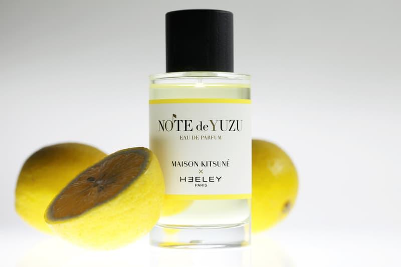 Maison Kitsuné 攜手 Heeley Parfums 打造旗下首款香氛 Note de Yuzu abc
