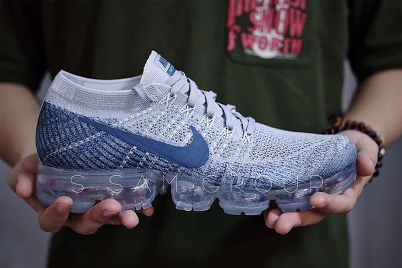 Nike Air VaporMax 全新「Grey/Navy」配色曝光