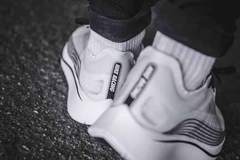 近賞 NikeLab Zoom Fly SP 全新黑白配色