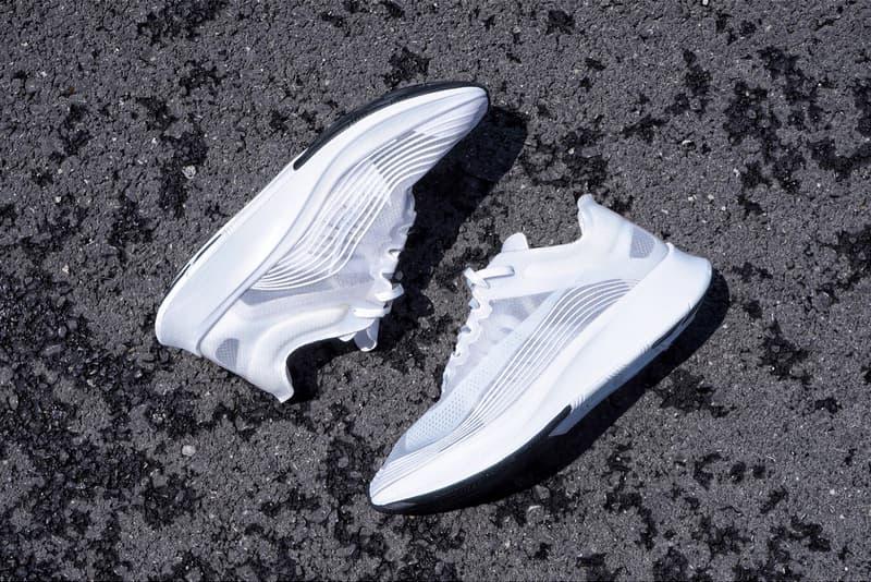 搶先預覽 NikeLab Zoom Fly SP「Triple White」全白配色