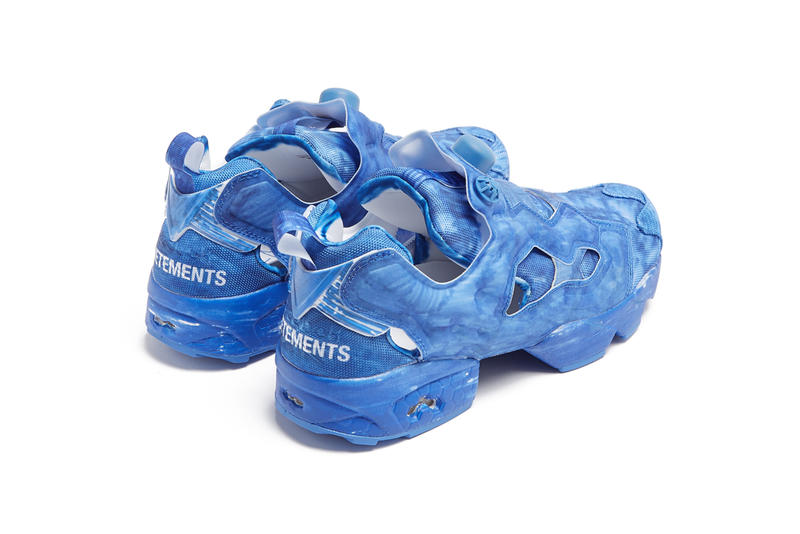 Vetements x Reebok Instapump Fury 最新聯名系列正式上架