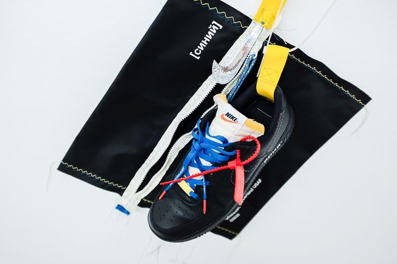 鞋迷打造定製 Air Force 1 致敬 Virgil Abloh x Nike 聯乘企劃