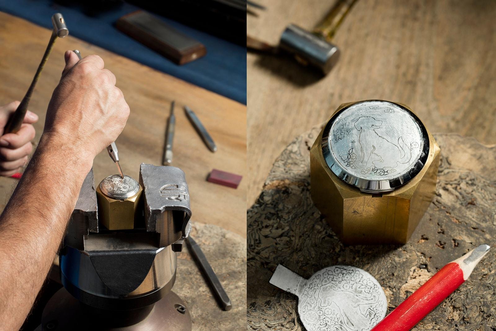意大利雕刻技藝-Panerai 最新 Luminor 1950 Sealand 3 Days Automatic Acciaio 狗年限定版本登場