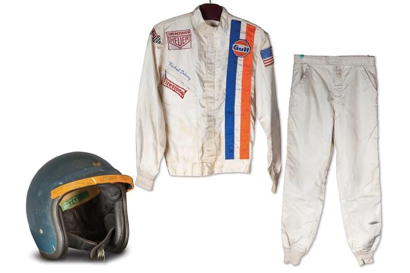 Steve McQueen 在電影《Le Mans》中著用過的賽車服即將進行拍賣