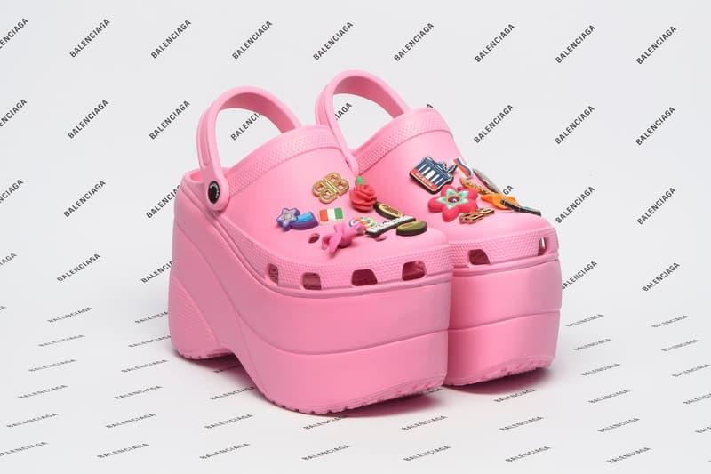 Balenciaga x Crocs 2018 春夏聯乘「Foam」鞋款