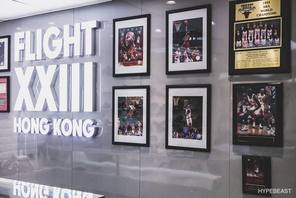 將鞋店打造成小型球鞋珍藏展 - FLIGHT23 HONG KONG