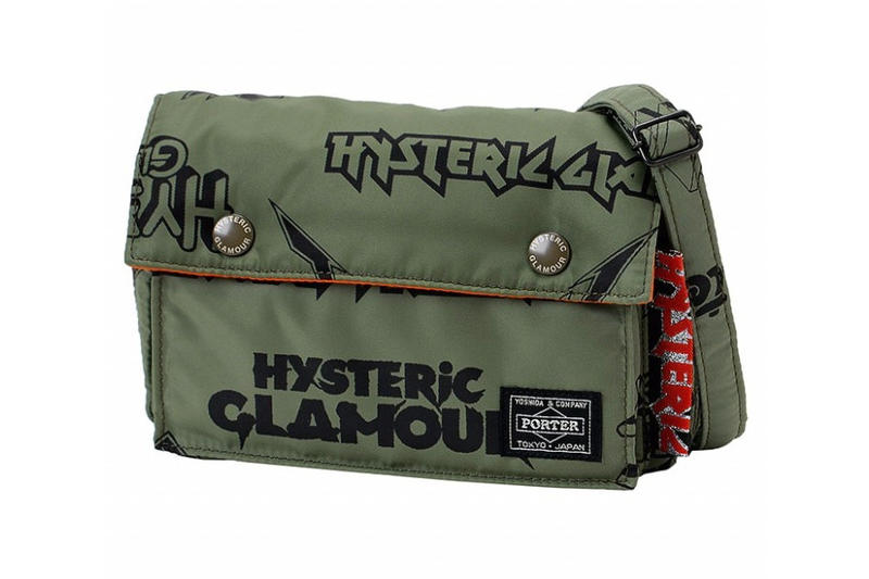 Porter x Hysteric Glamour 軍事與搖滾之協作