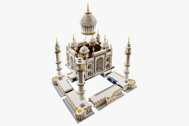 擴建工程-LEGO 推出 5,923 個組件的新版本泰姬陵