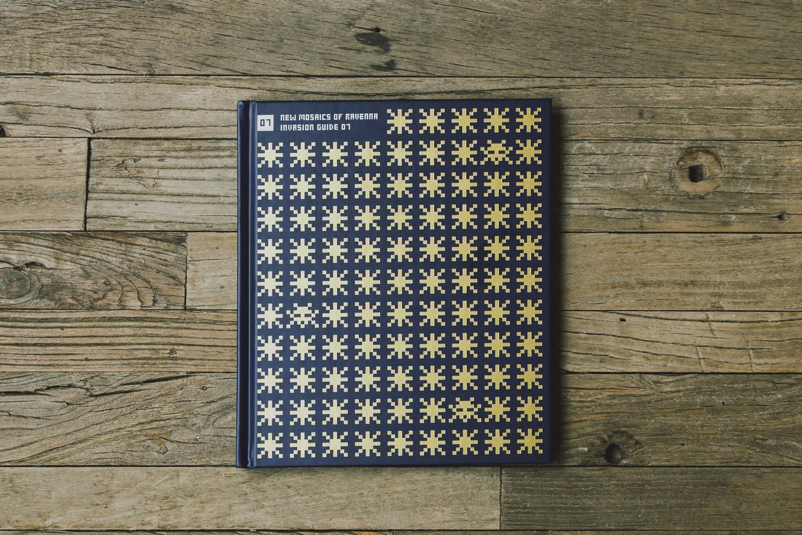 率先欣賞 Invader 全球限量 25 本《New Mosaics of Ravenna》