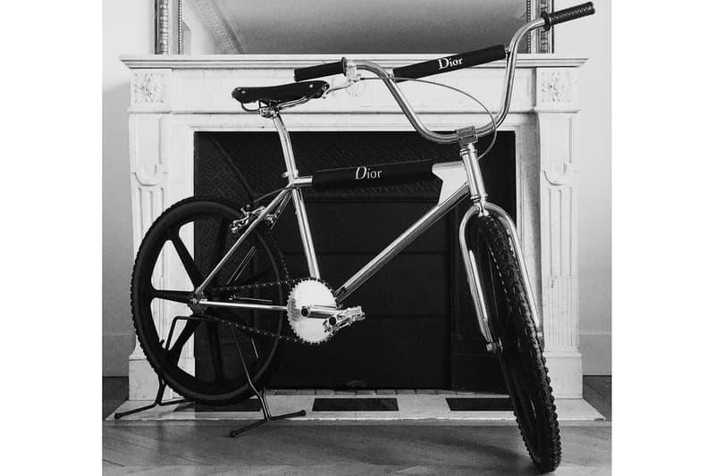 Kris Van Assche 預告 Dior Homme x Bogarde 聯乘 BMX 即將推出