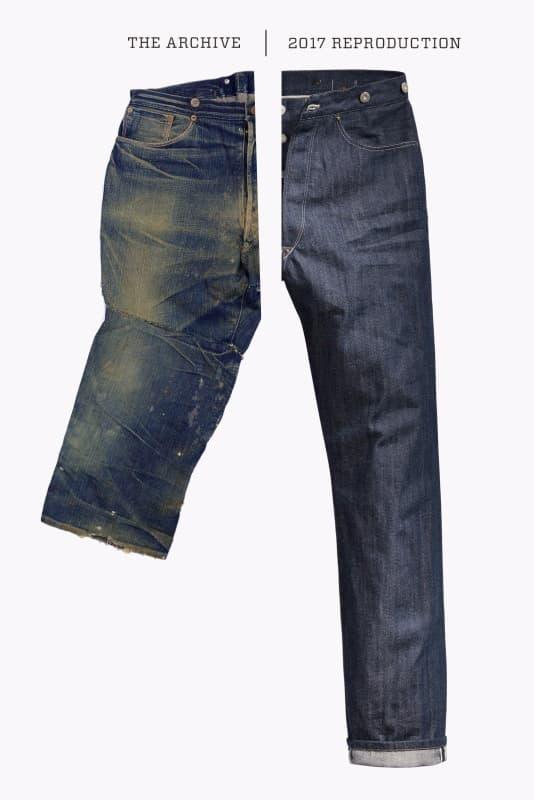 元祖復刻-重塑 Levi's 501 原型 1880's XX Waist Overalls