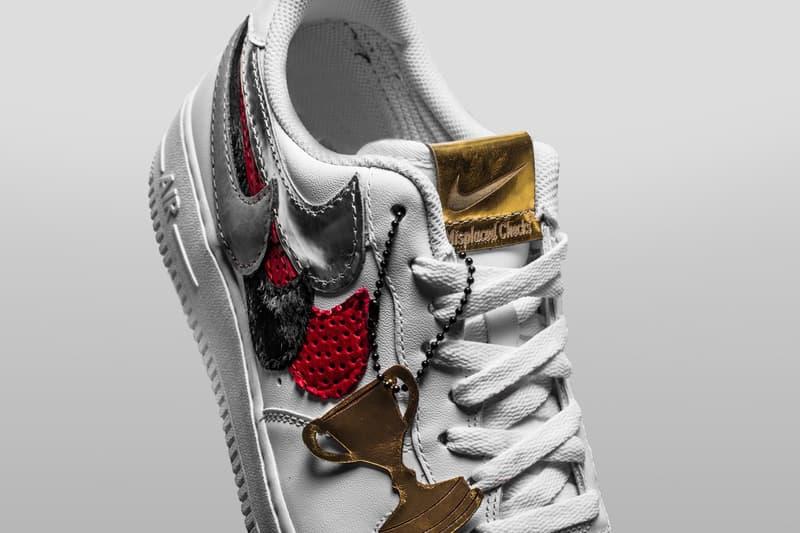 John Geiger 與 The Shoe Surgeon 打造全新 Nike Air Force 1 定製配色