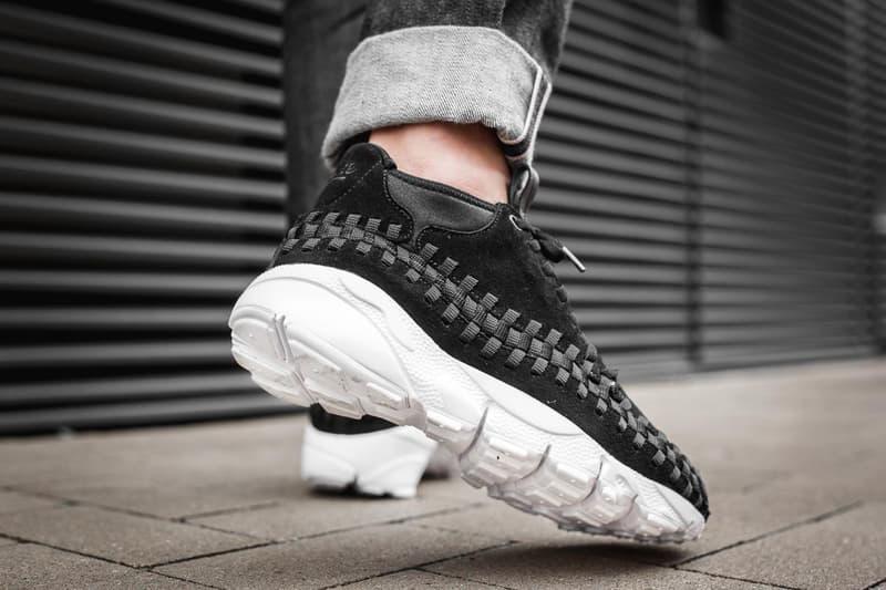 Nike Air Footscape Woven Chukka 推出全新黑白配色