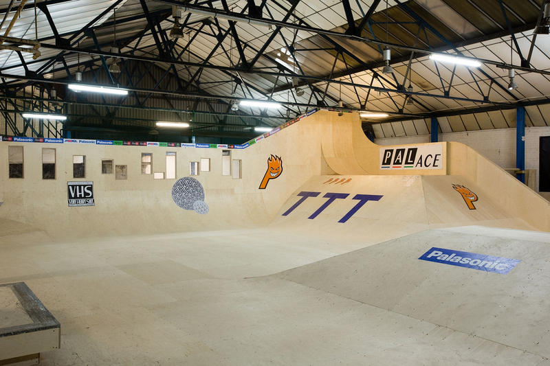 率先走進 Palace 倫敦首個自家滑板場「MWADLANDS」
