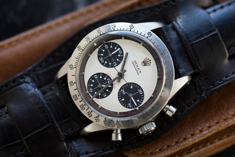 Rolex 經典 Daytona「Paul Newman」榮登史上最高拍賣價腕錶