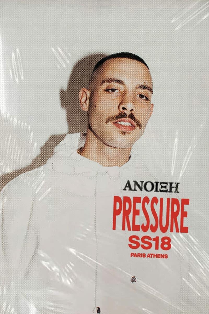 Pressure 2018 春夏系列 Lookbook