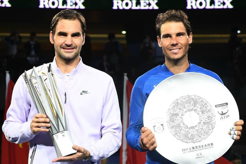 Roger Federer 擊敗 Rafael Nadal 勝出上海大師賽單打決賽