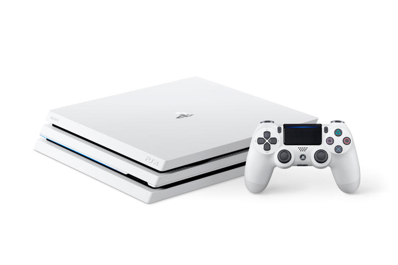 Sony PlayStation 4 Pro 推出全新「冰河白」配色