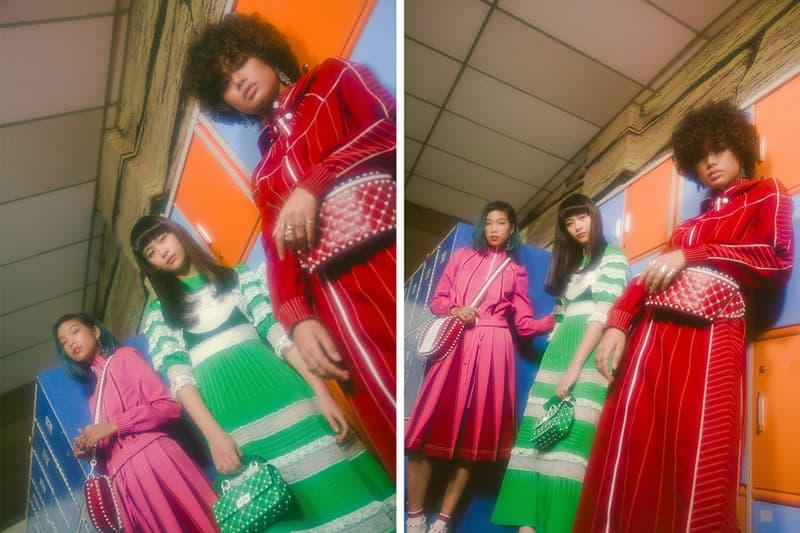 Valentino 與日模 Lala Takahashi 打造 VLTN 早春系列短片