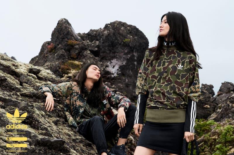 adidas Originals = PHARRELL WILLIAMS「Hu Hiking」企劃第二彈登場