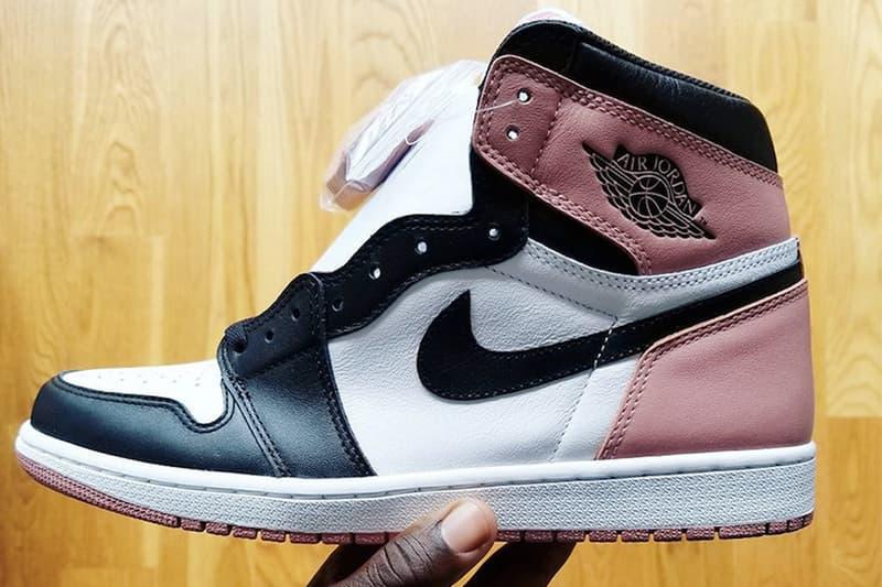 淡粉氣息 − Air Jordan 1「Rust Pink」全新配色搶先預覽