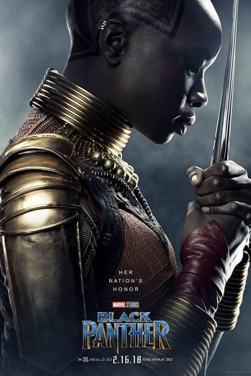 Wakanda 文化盡現!MARVEL 電影《黑豹》釋出全新個人海報