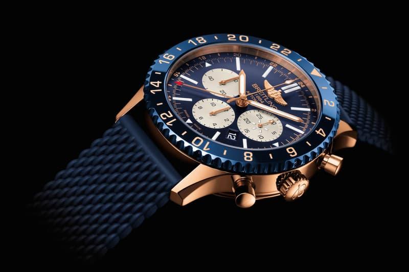 designer fashion 51906 a915b BREITLING 最新航空飛行時計Chronoliner B04 登場| HYPEBEAST