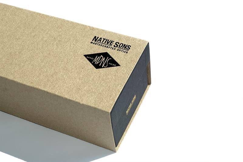 NATIVE SONS X MADNESS 第三回聯乘鏡架香港發售情報公開