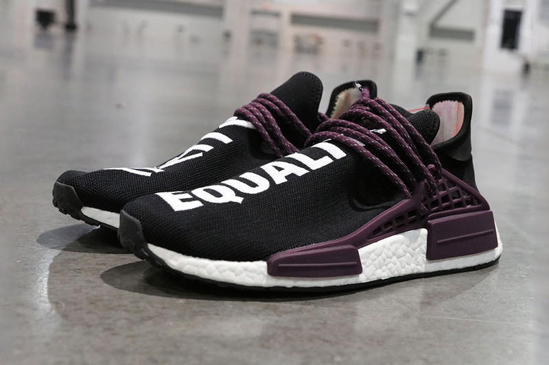 率先近賞 Pharrell x adidas Originals Hu NMD 全新「Black Canvas」配色
