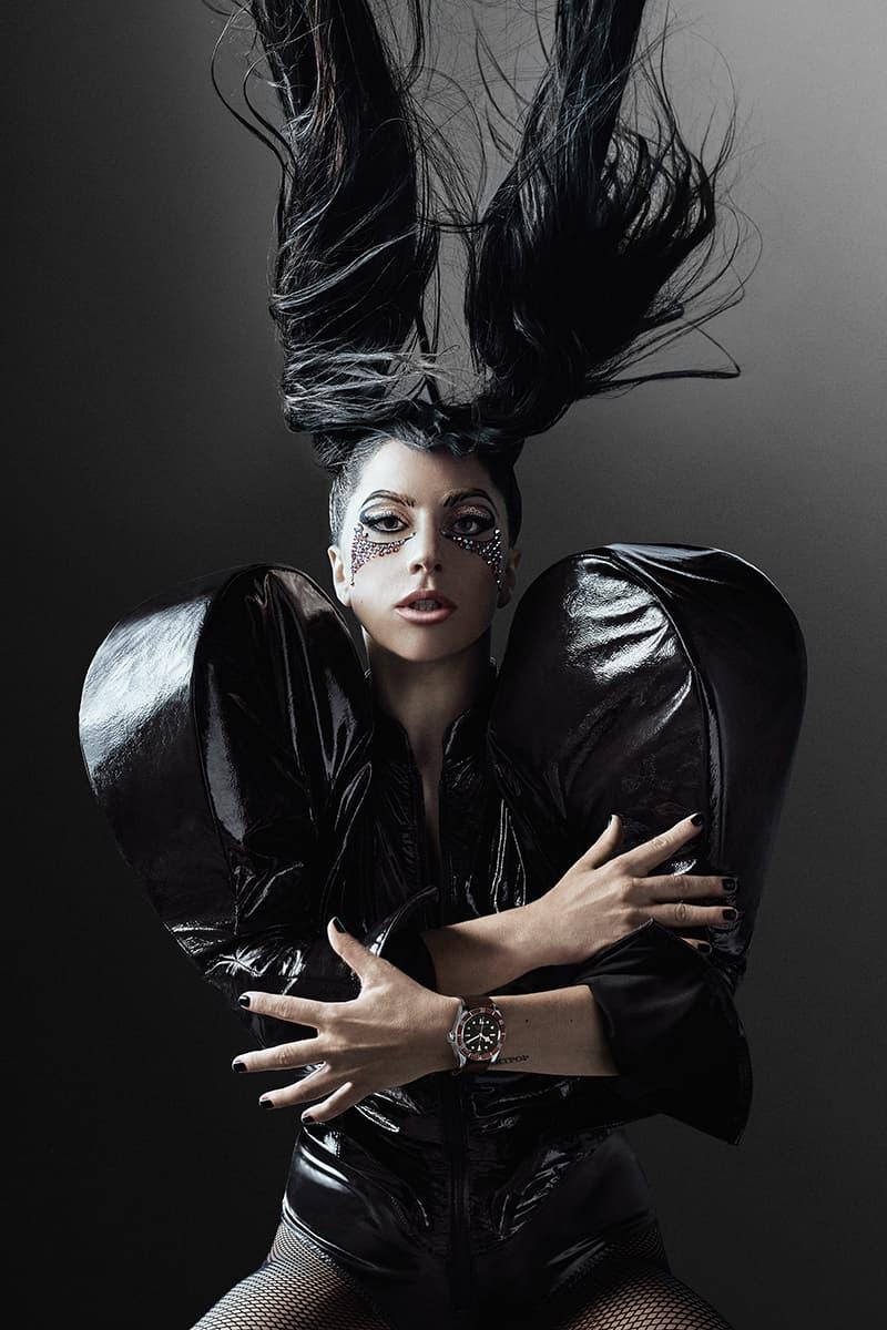 首位女性代言人-Lady Gaga 擔任 Tudor 品牌及 #BornToDare 宣傳活動代言人