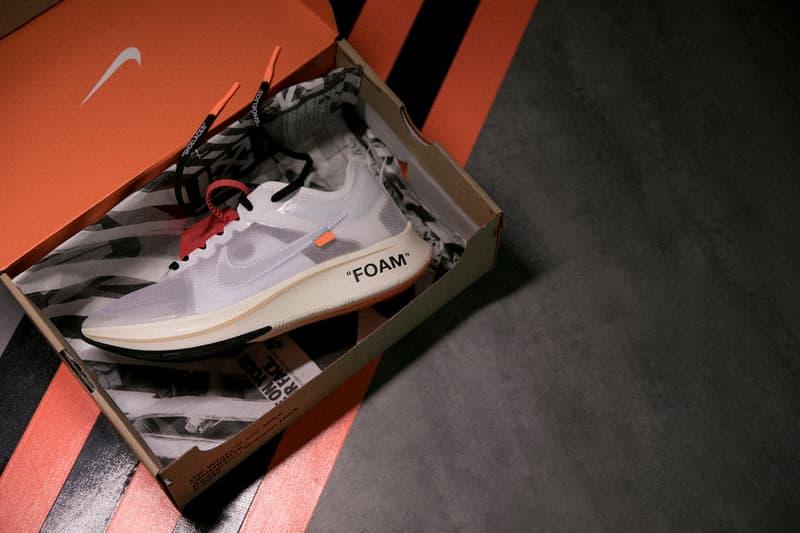 HBX 為 Virgil Abloh x Nike「The Ten」系列打造球鞋展覽