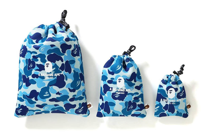 電子裝備保護-A BATHING APE® 推出 ABC Gadgets Pouch Set