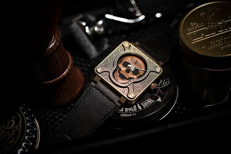 向二戰傘兵致敬-Bell & Ross 全新物料打造限量版 SKULL 腕錶