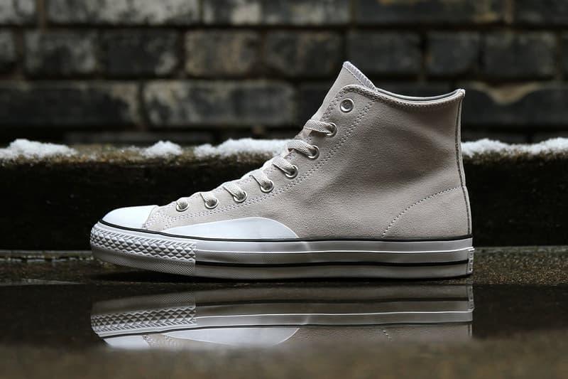 Converse 為 CTAS Hi 和 One Star 釋出全新「Pale Grey」配色