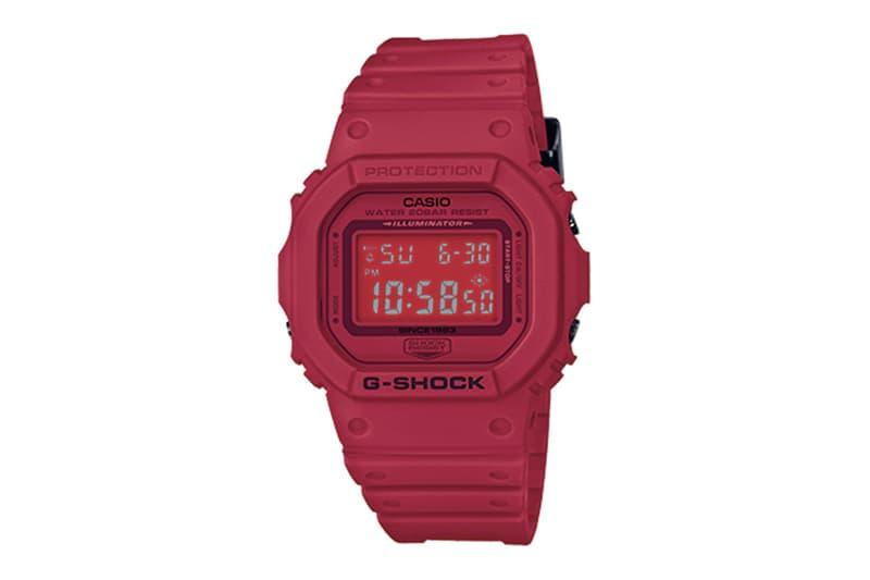 35 周年別注!G-Shock 全紅「Red Out」系列即將登場!