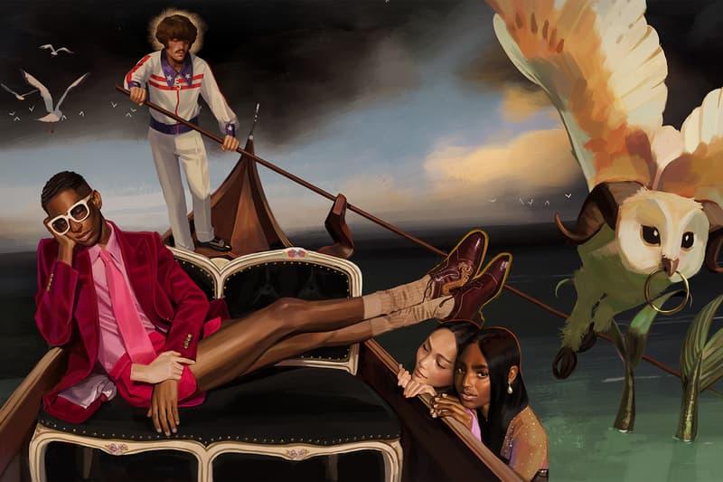 西班牙藝術家 Ignasi Monreal 為 Gucci 繪製 2018 春夏系列大片