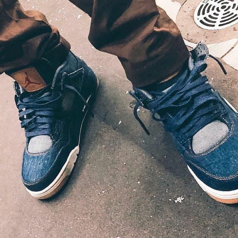Levi's x Air Jordan 4 聯乘鞋款售價曝光