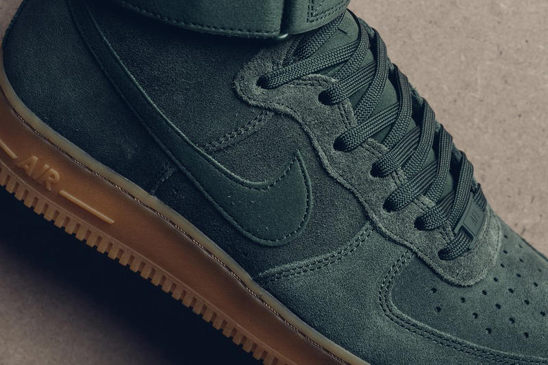 Nike Air Force 1 High 全新配色設計「Vintage Green」
