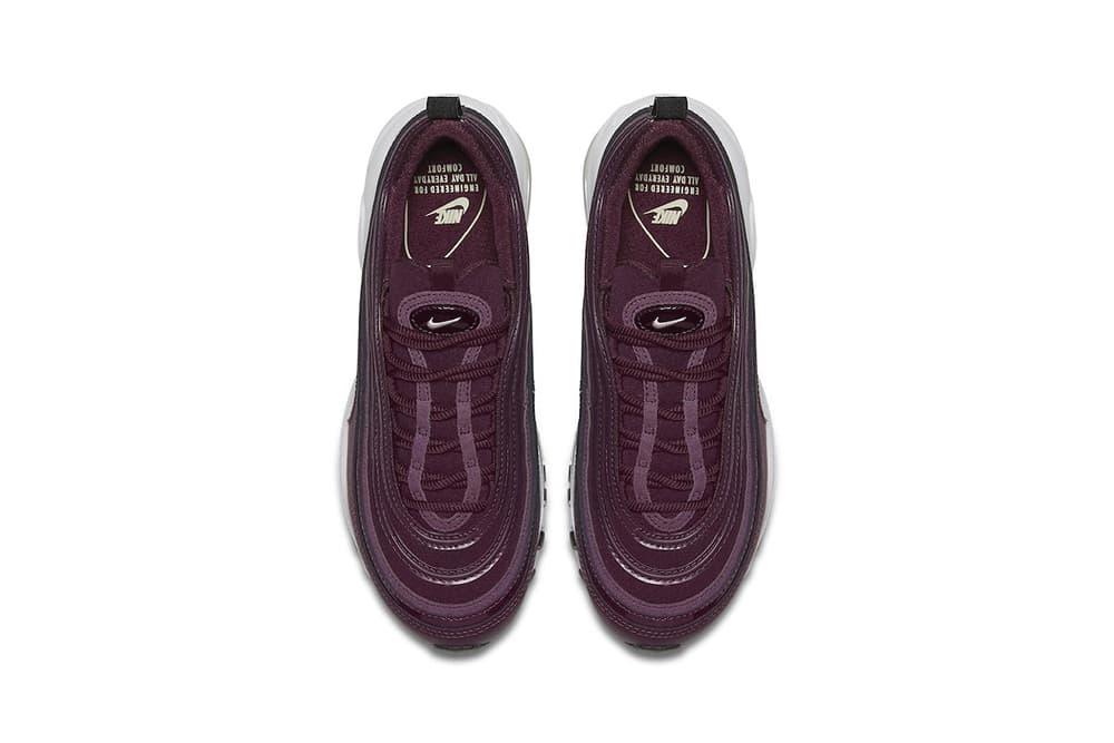 Nike Air Max 97全新配色設計「Bordeaux」