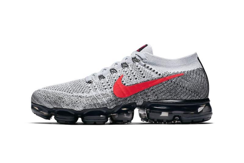 Nike Air VaporMax 全新灰色版本官方圖片釋出