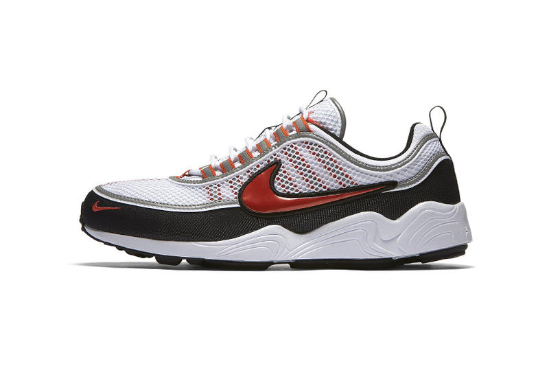 Nike Air Zoom Spiridon 全新配色設計「Team Orange/White」