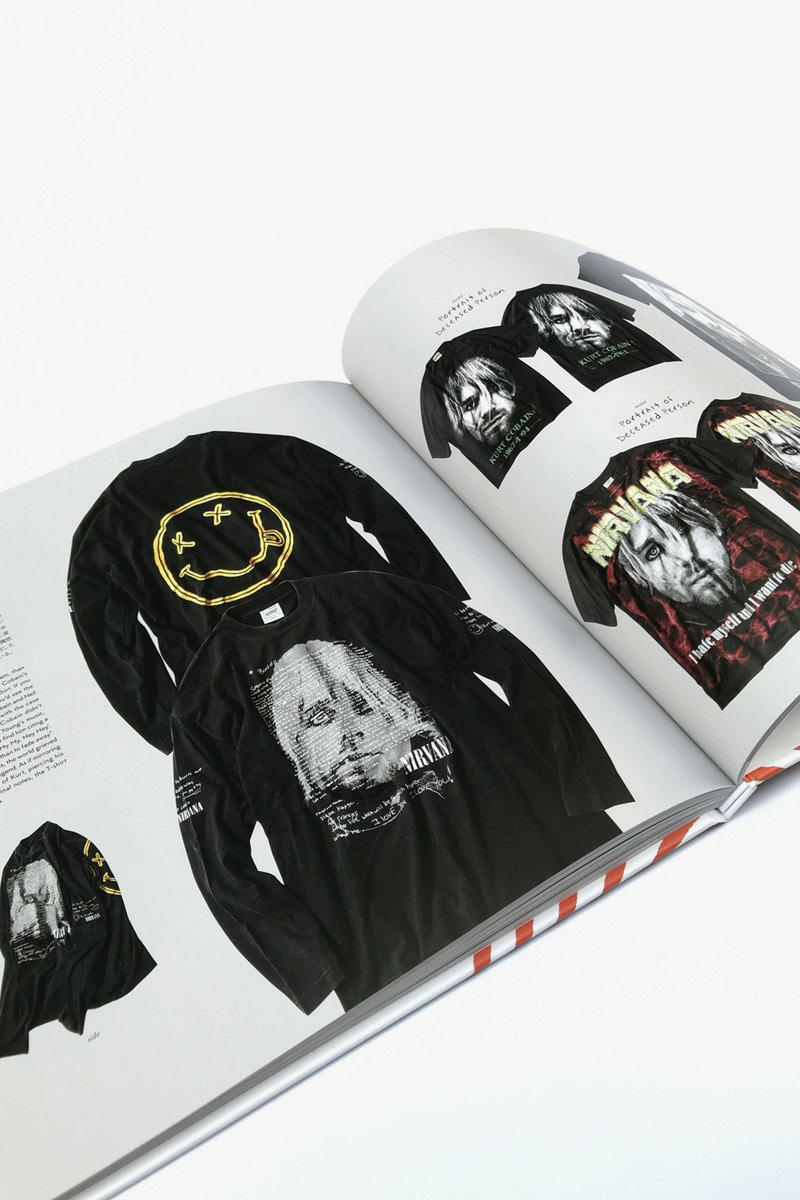 offshore tokyo 推出《HELLOH? Nirvana T-Shirt Book》紀念 Kurt Cobain