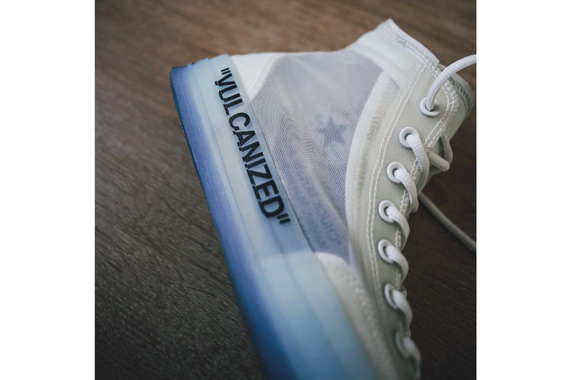 Virgil Abloh x Converse「The Ten」聯乘鞋款細節一覽