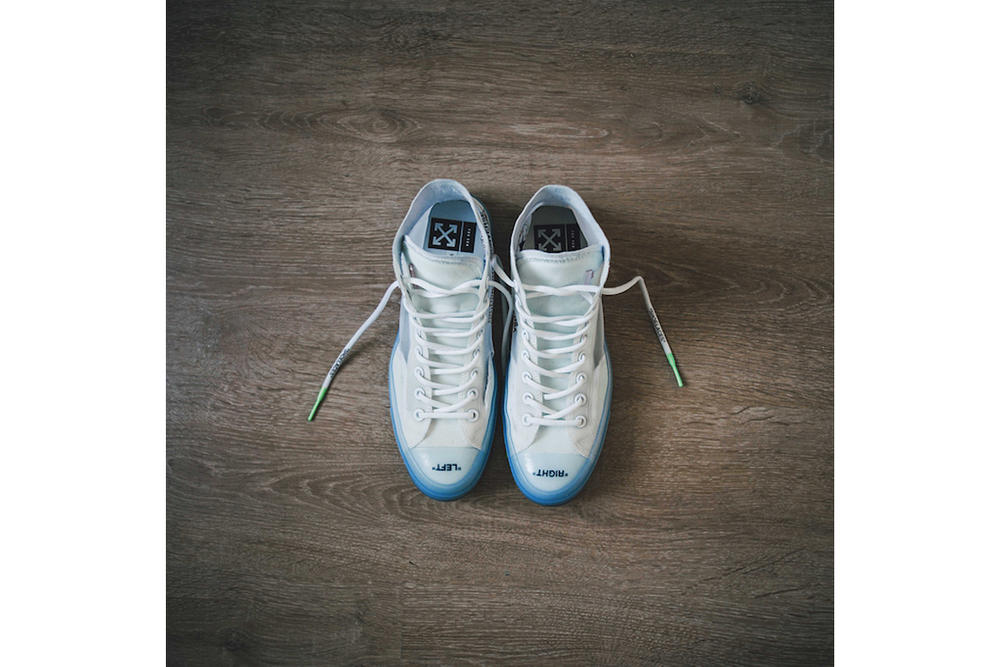 Virgil Abloh x Converse「The Ten」聯乘鞋款細節一覽