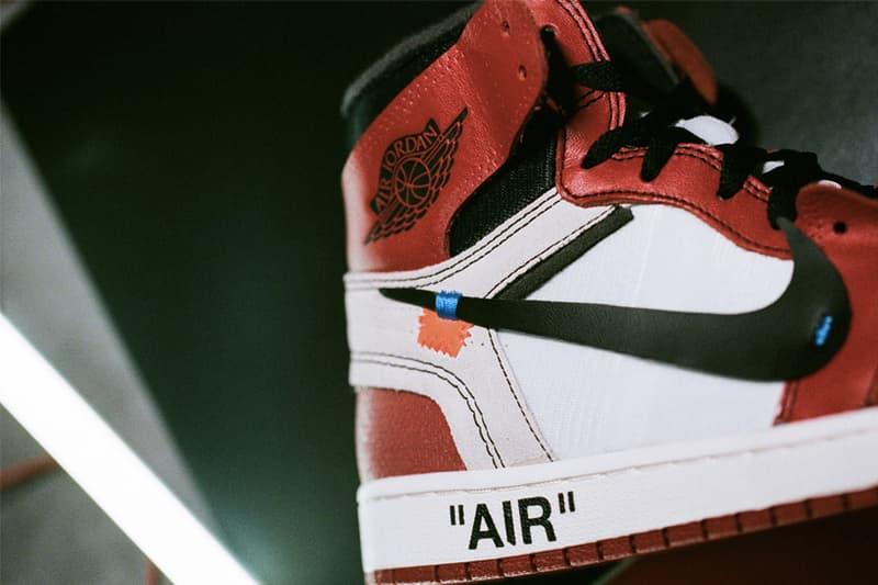 Virgil Abloh x Nike「The Ten」2018 年聯乘企劃總整理