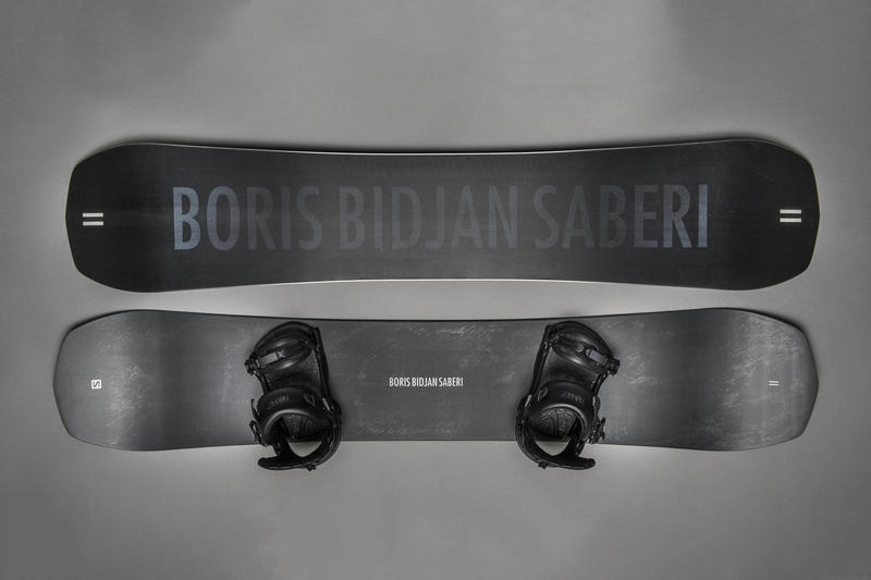11 by Boris Bidjan Saberi x Salomon 聯名限定滑雪板