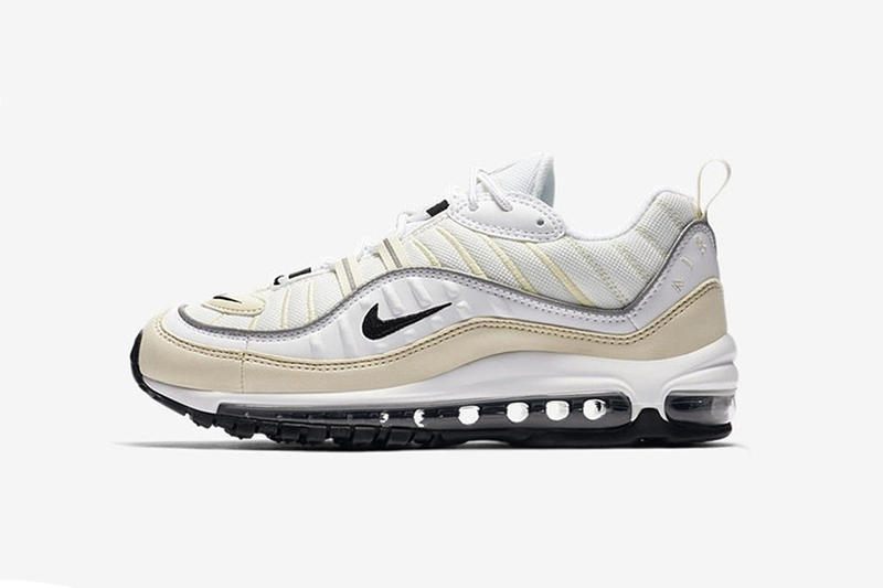 Nike Air Max 98「White Fossil」配色曝光