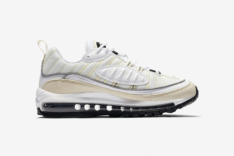 Nike Air Max 98「White Fossil」配色曝光